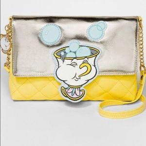 Chip Beauty and the Beast Disney crossbody purse